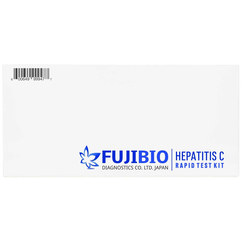 Fujibio C型肝炎迅速検査キットは