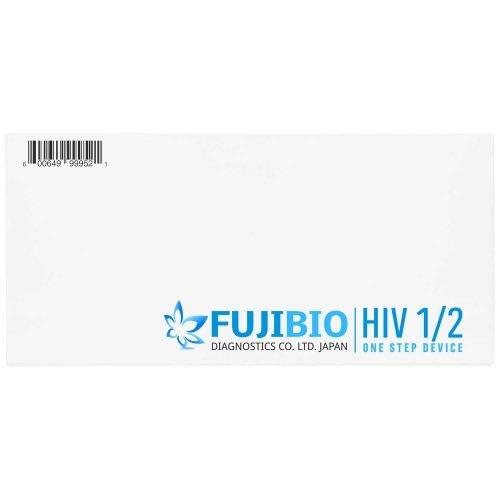 Fujibio HIV 1/2ワンステップデバイスラピッドテストキットは